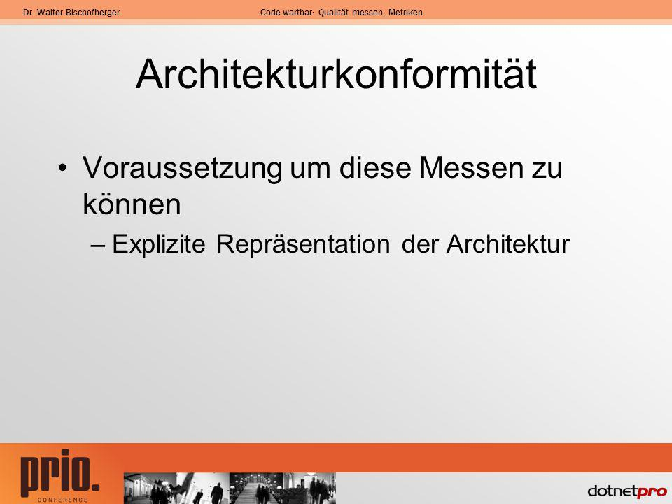 Architekturkonformität