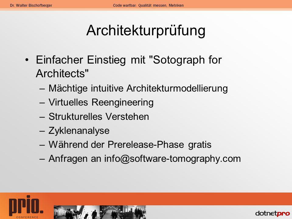 Architekturprüfung Einfacher Einstieg mit Sotograph for Architects