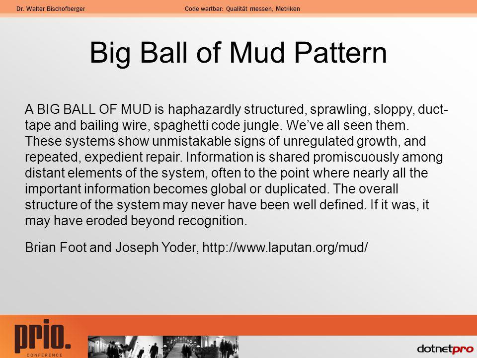 Big Ball of Mud Pattern