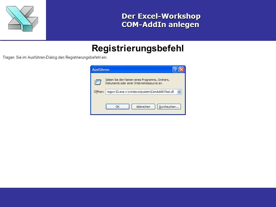 Registrierungsbefehl
