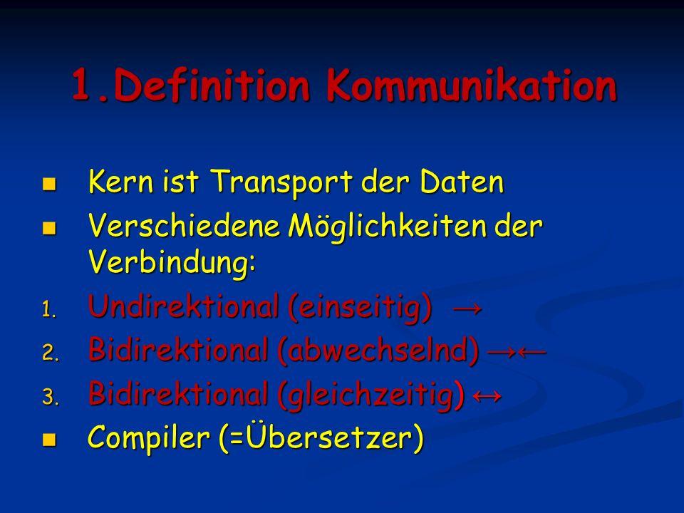 1.Definition Kommunikation