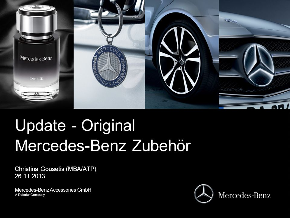 update - original mercedes-benz zubehör - ppt video online herunterladen