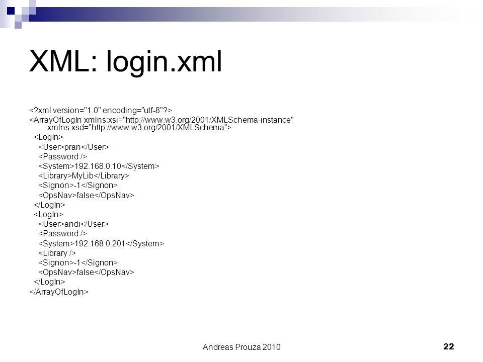 XML: login.xml < xml version= 1.0 encoding= utf-8 >