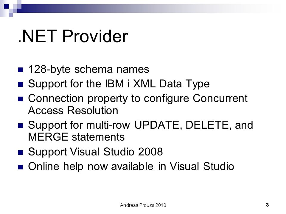 .NET Provider 128-byte schema names