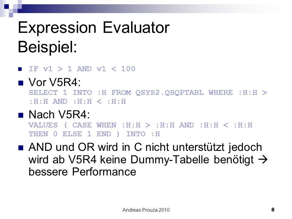 Expression Evaluator Beispiel: