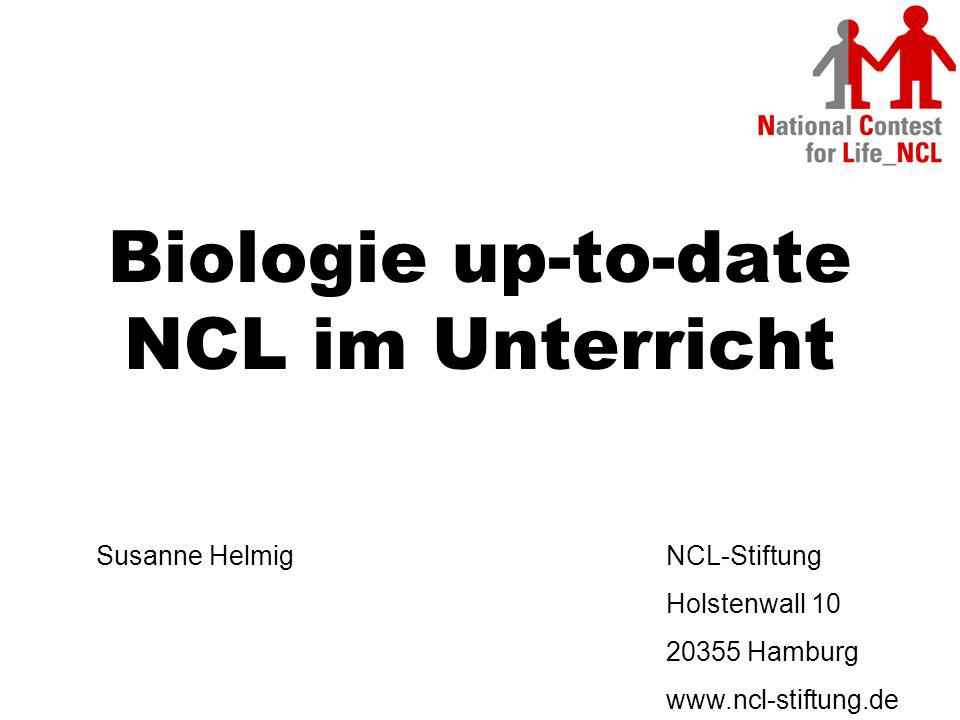 Biologie up-to-date NCL im Unterricht