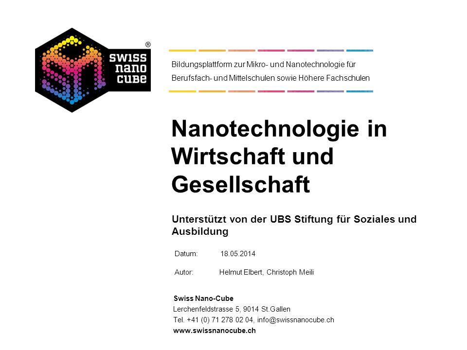 Nanotechnologie in Wirtschaft und Gesellschaft