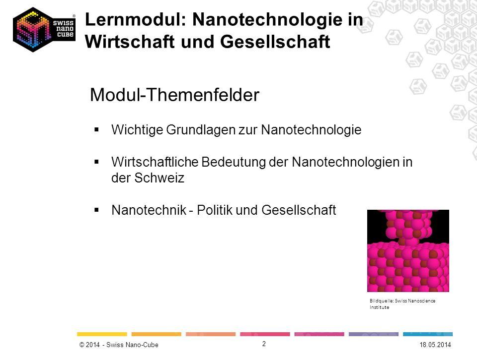 Lernmodul: Nanotechnologie in Wirtschaft und Gesellschaft