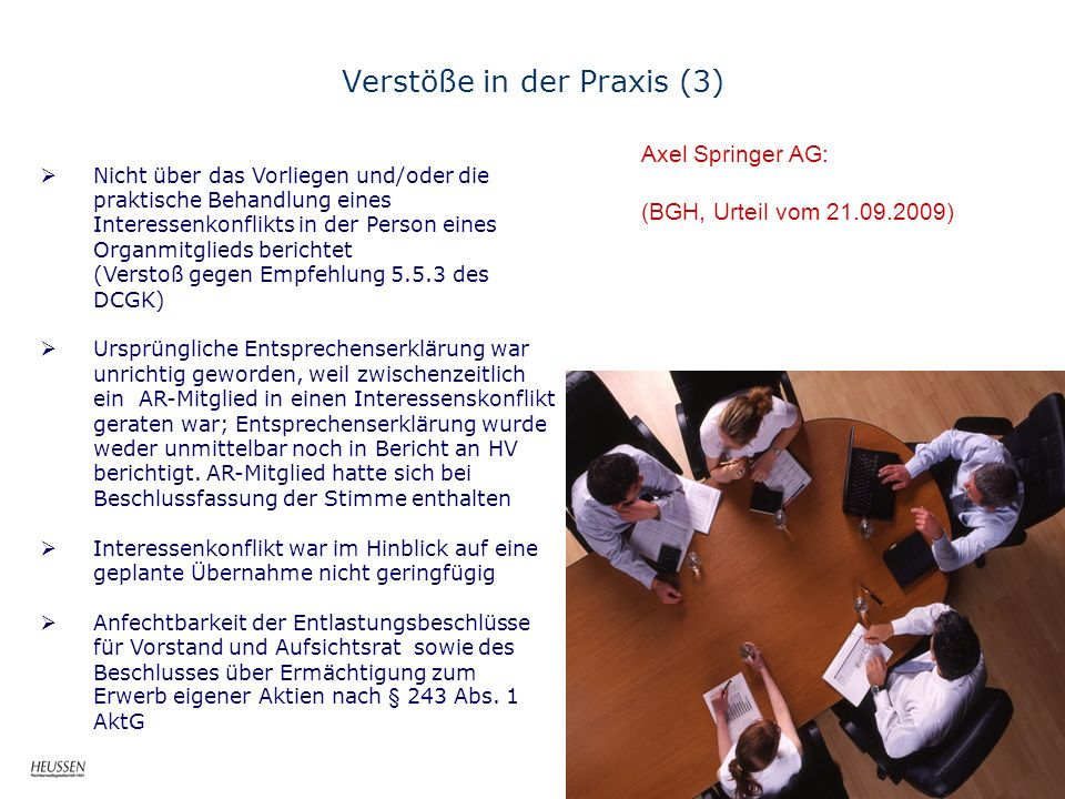 Verstöße in der Praxis (3)