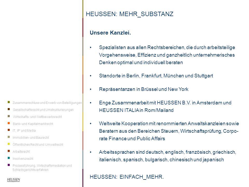 HEUSSEN: MEHR_SUBSTANZ