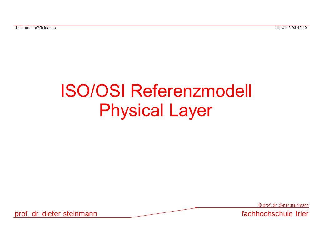ISO/OSI Referenzmodell