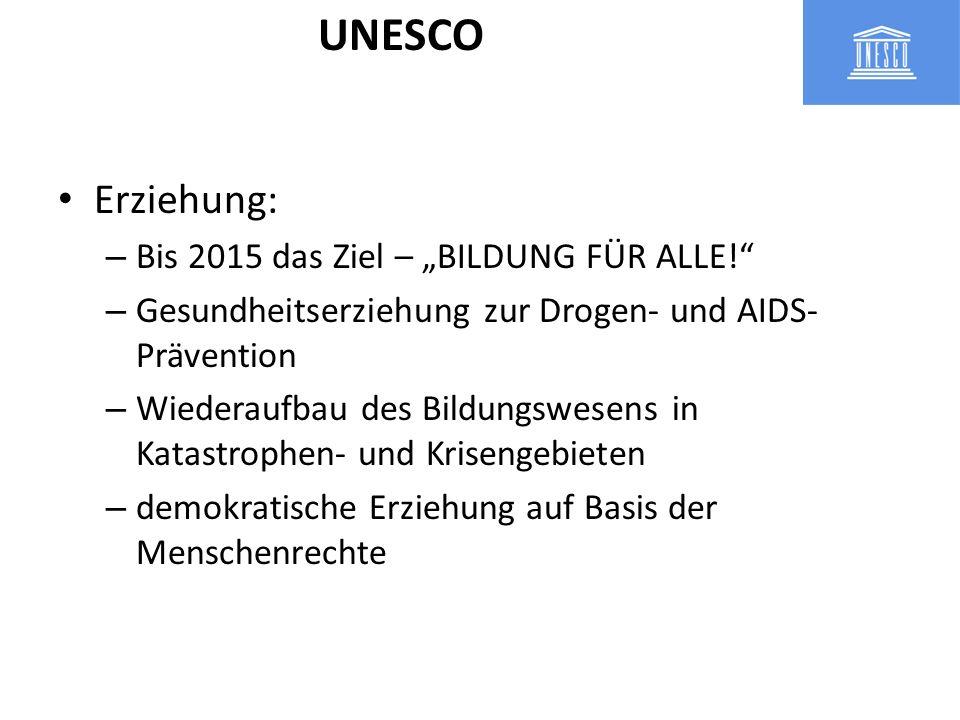 """UNESCO Erziehung: Bis 2015 das Ziel – """"BILDUNG FÜR ALLE!"""