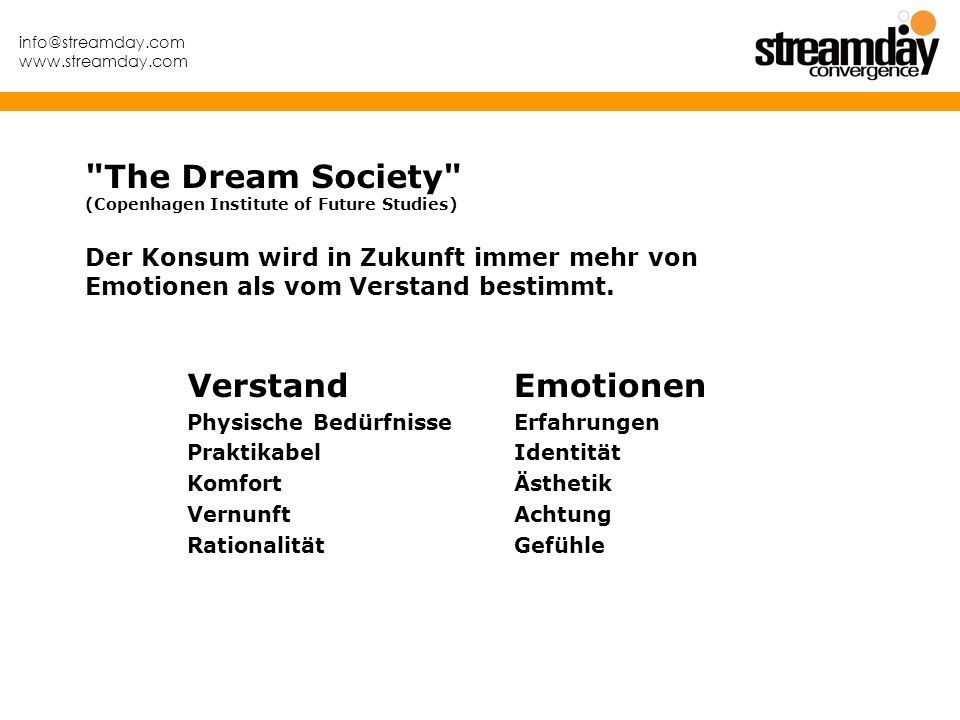 The Dream Society (Copenhagen Institute of Future Studies)