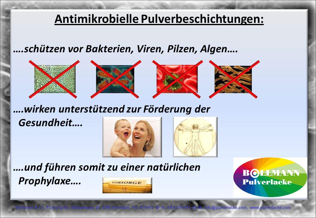 Antimikrobielle Pulverbeschichtungen: