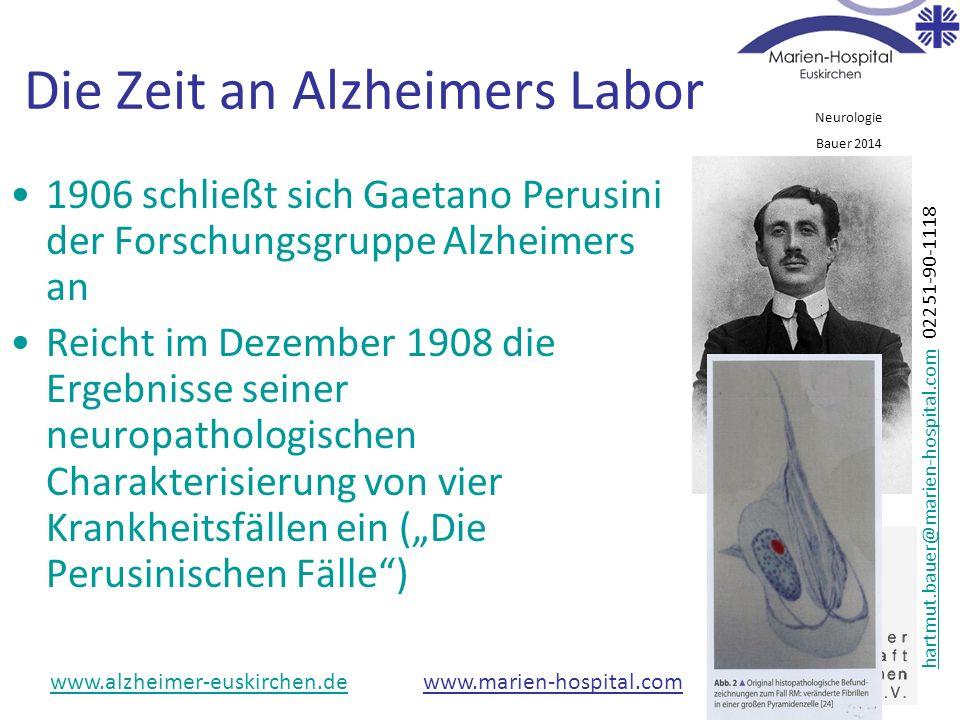 Die Zeit an Alzheimers Labor