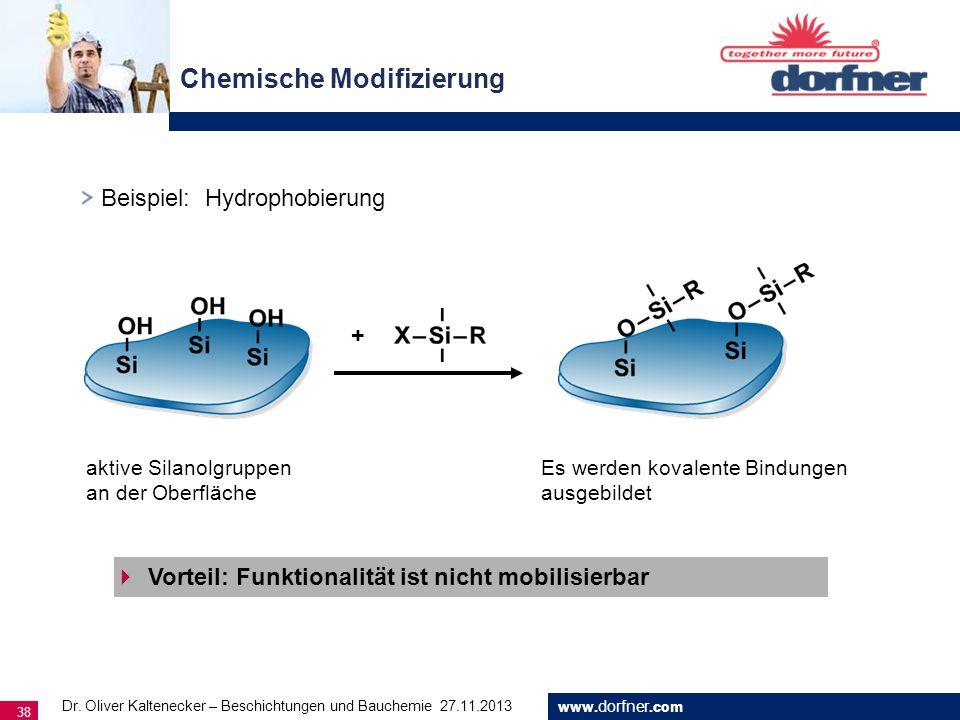 Chemische Modifizierung
