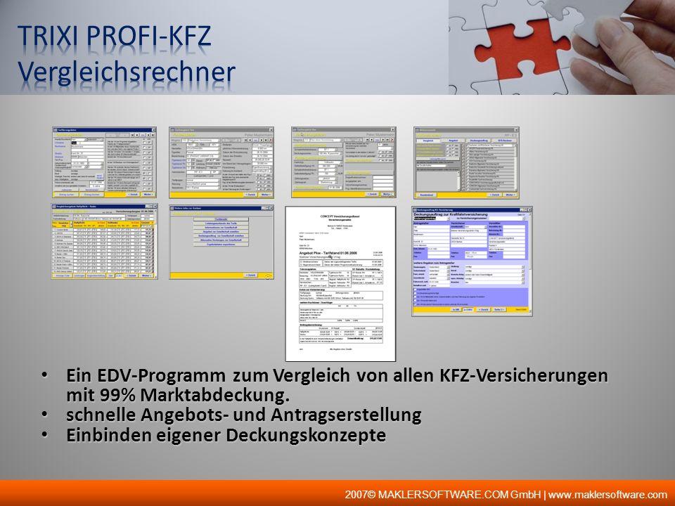 TRIXI PROFI-KFZ Vergleichsrechner