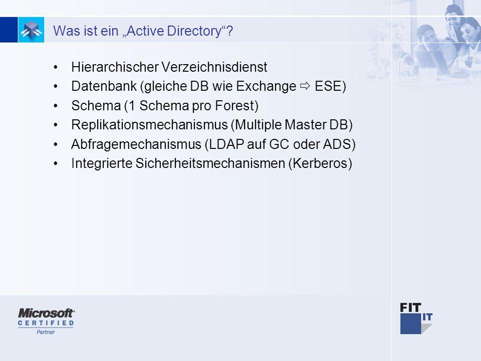 """Was ist ein """"Active Directory"""