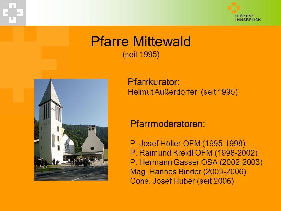 Pfarre Mittewald (seit 1995)