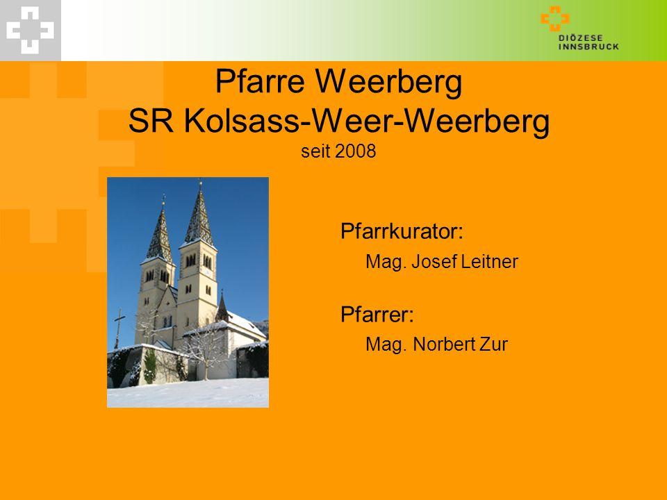 Pfarre Weerberg SR Kolsass-Weer-Weerberg seit 2008