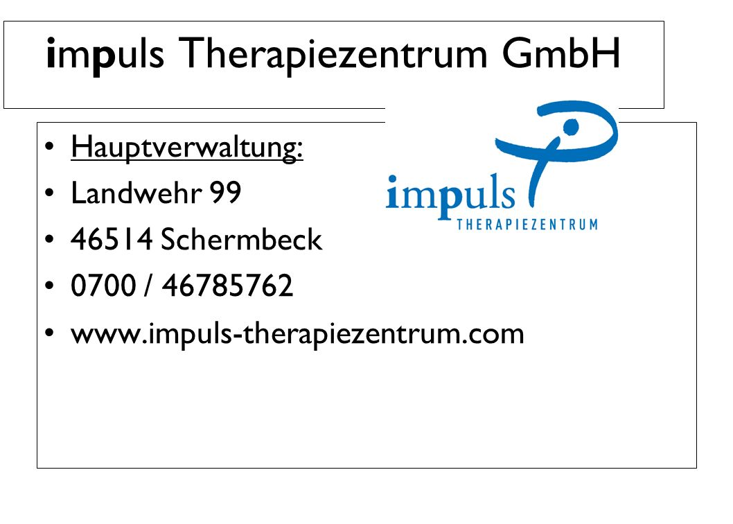 impuls Therapiezentrum GmbH