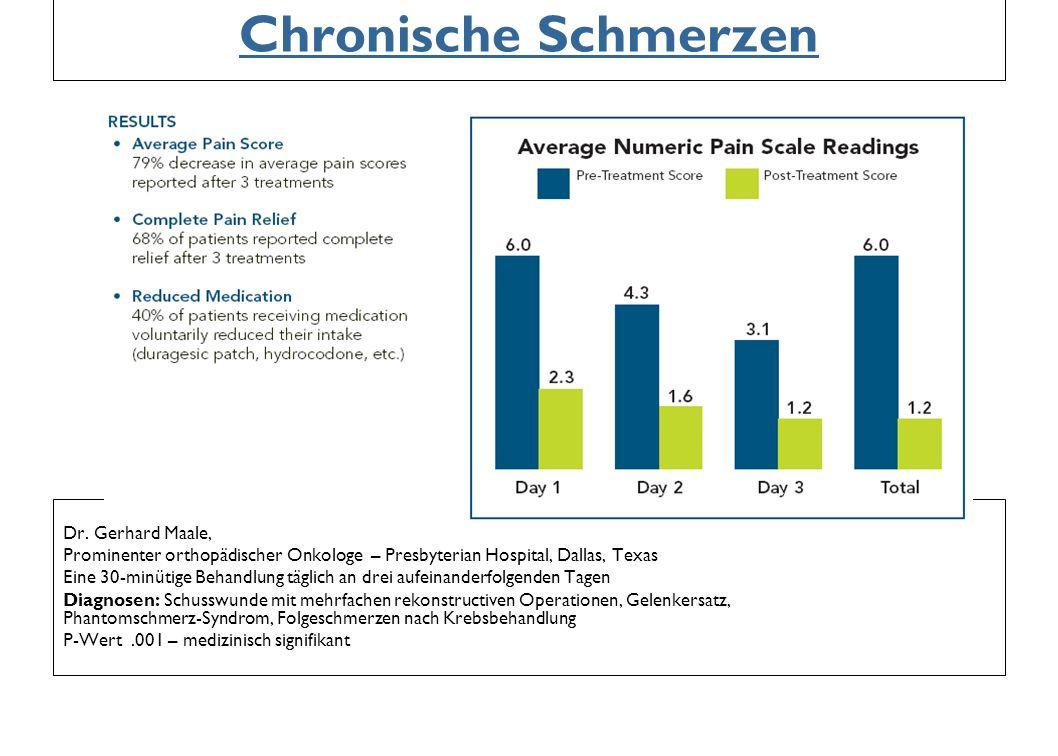 Chronische Schmerzen Dr. Gerhard Maale,