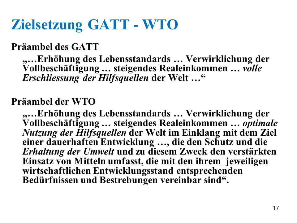 gatt vs wto essays Free essay: world trade organization (wto) the world trade organization   the wto is the successor to the general agreement on tariffs and trade (gatt)   any state or customs territory having full autonomy in the conduct of its trade.