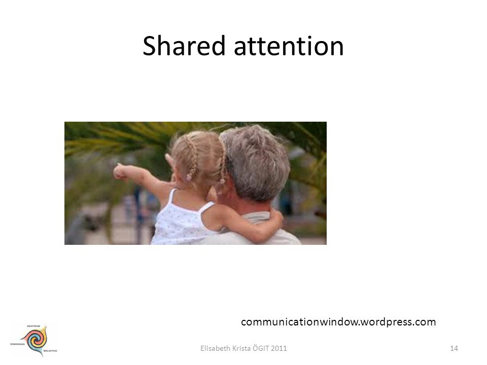Shared attention communicationwindow.wordpress.com