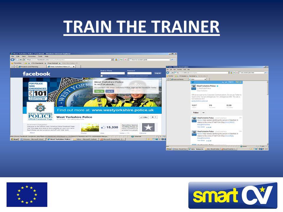 TRAIN THE TRAINER Train the trainer: