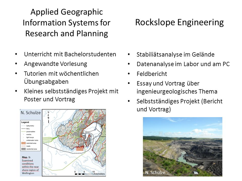 Applied Geographic Information Systems for Research and Planning