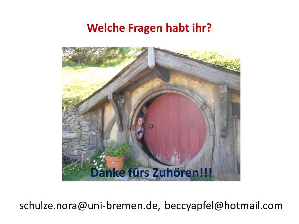 schulze.nora@uni-bremen.de, beccyapfel@hotmail.com
