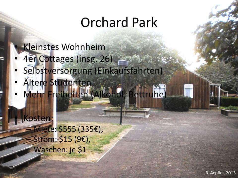 Orchard Park Kleinstes Wohnheim 4er Cottages (insg. 26)