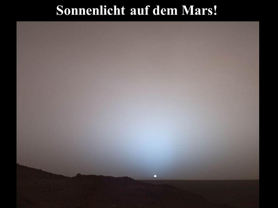 Sonnenlicht auf dem Mars!