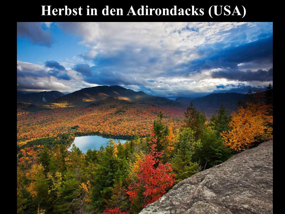 Herbst in den Adirondacks (USA)