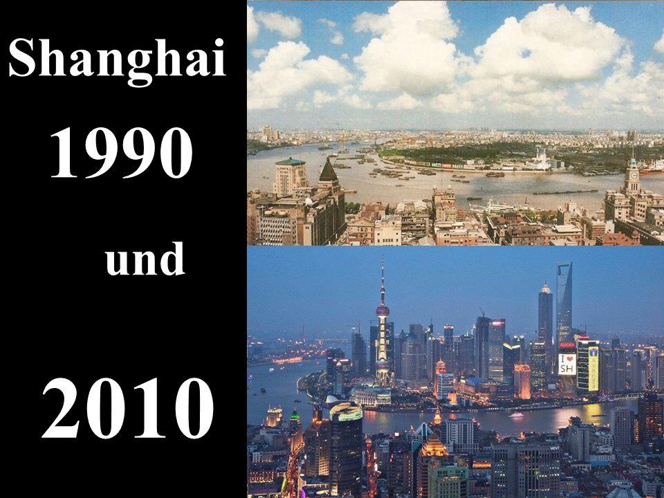 Shanghai 1990 und 2010 5