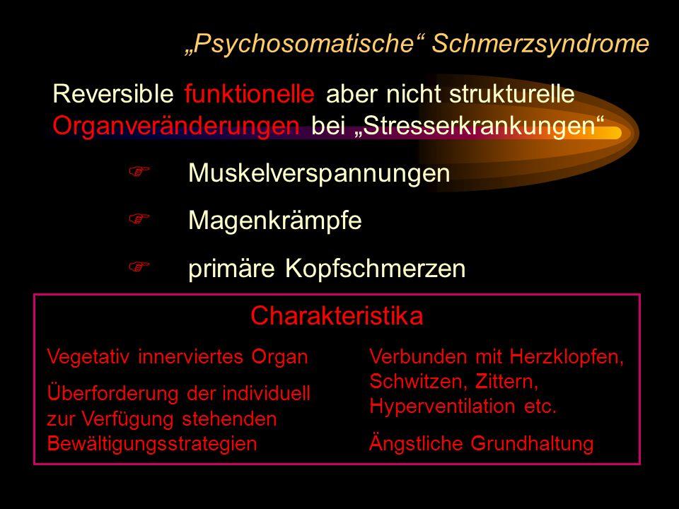 """""""Psychosomatische Schmerzsyndrome"""