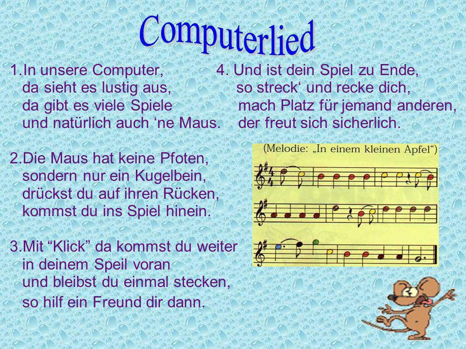 Computerlied In unsere Computer, 4. Und ist dein Spiel zu Ende,