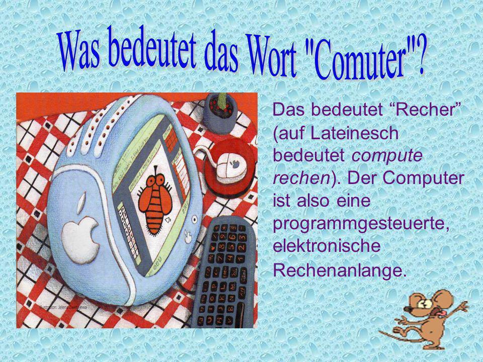 Was bedeutet das Wort Comuter