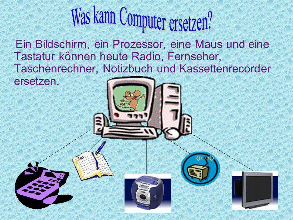 Was kann Computer ersetzen