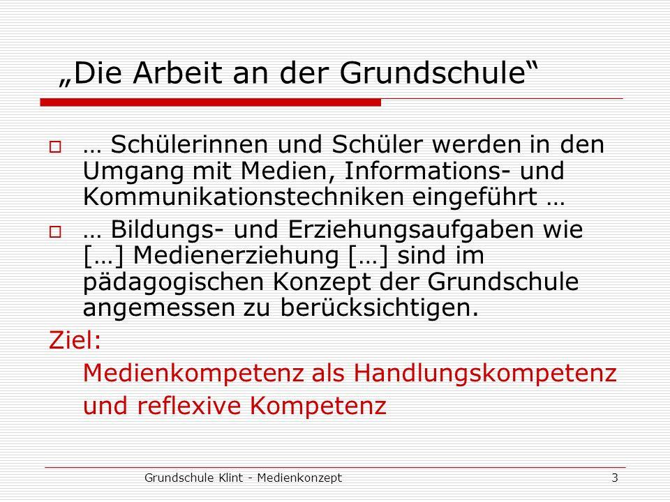 """""""Die Arbeit an der Grundschule"""