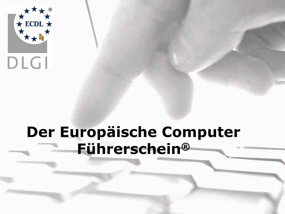 Der Europäische Computer Führerschein®
