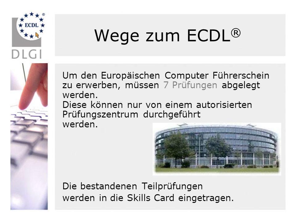 Wege zum ECDL®