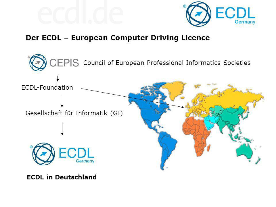 Der ECDL – European Computer Driving Licence