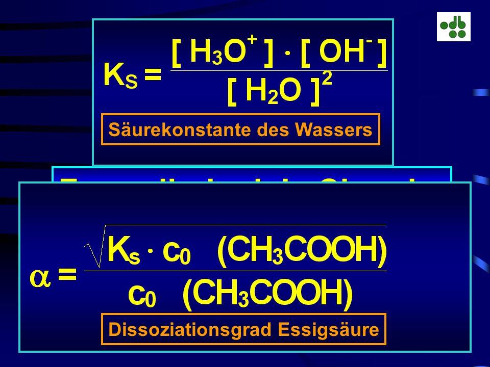 Formelbeispiele Chemie: