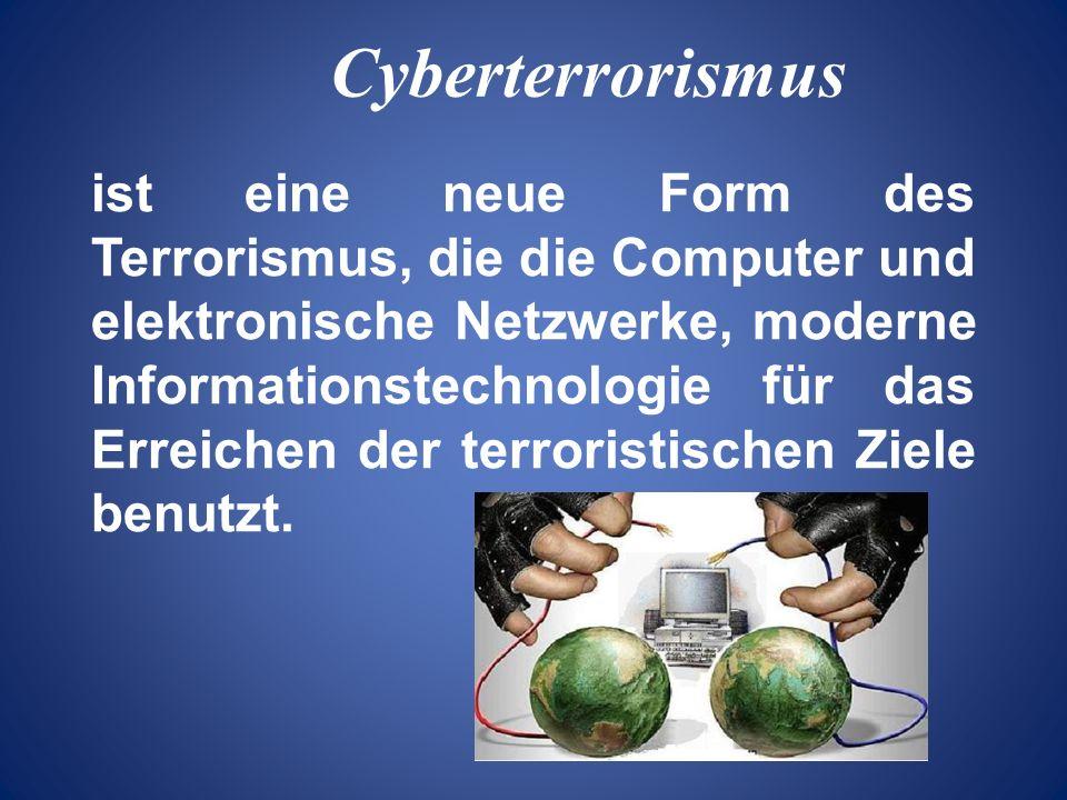 Cyberterrorismus