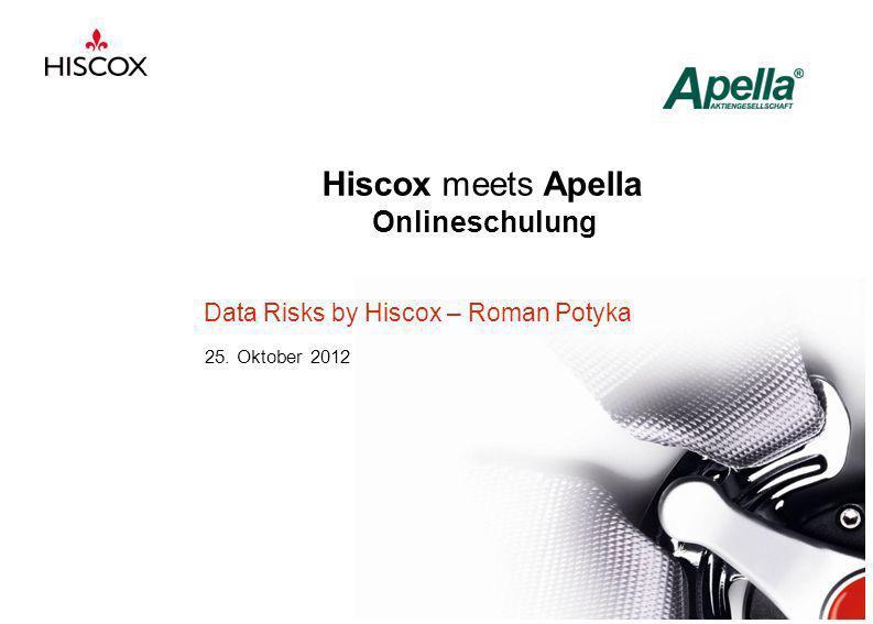 Hiscox meets Apella Onlineschulung