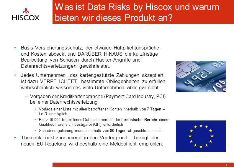Was ist Data Risks by Hiscox und warum bieten wir dieses Produkt an