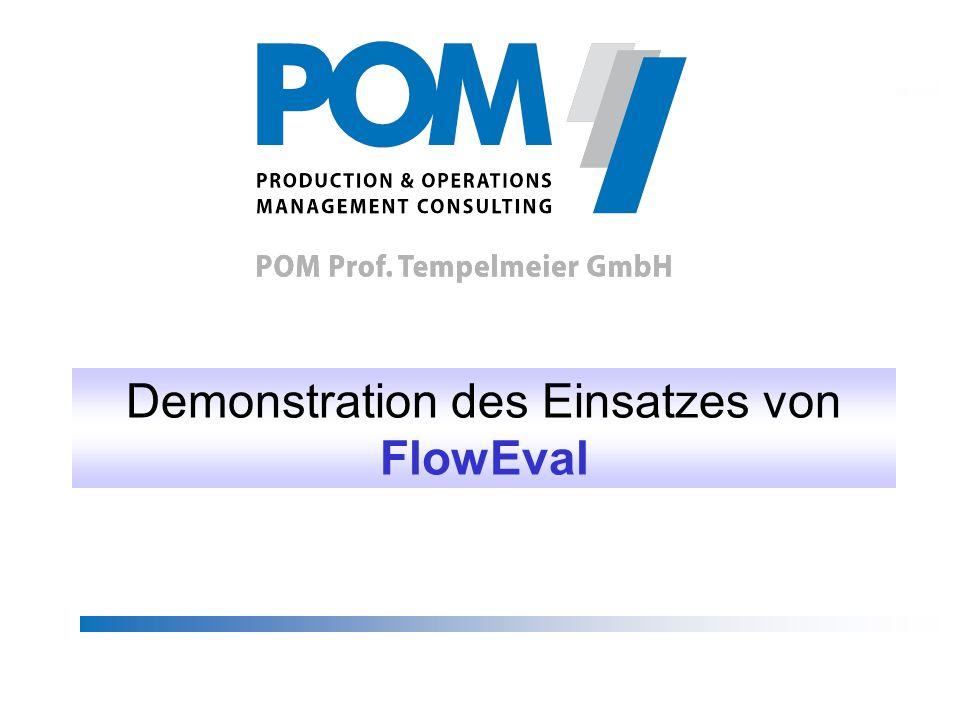 Demonstration des Einsatzes von FlowEval