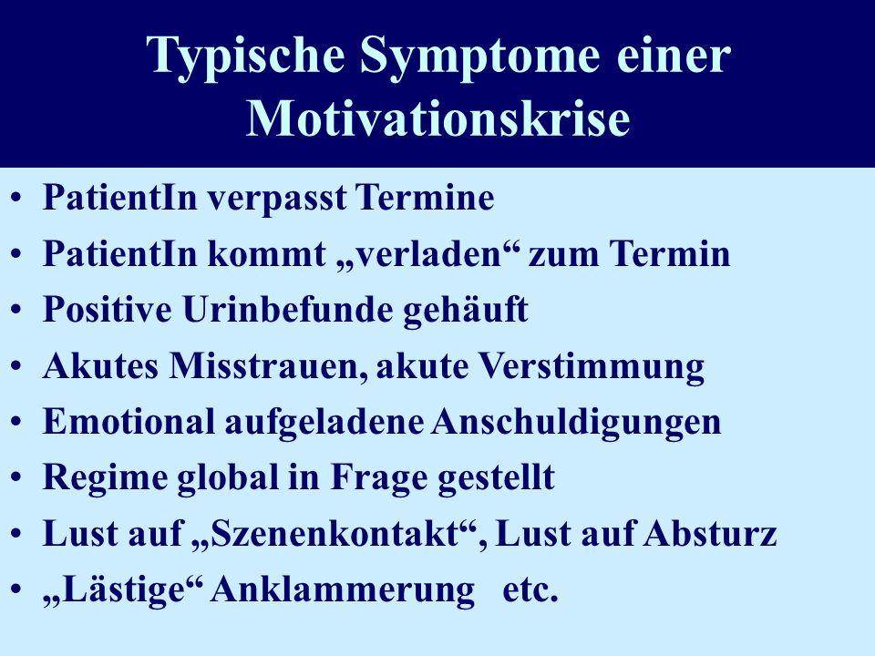 Typische Symptome einer Motivationskrise