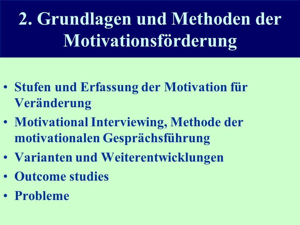 2. Grundlagen und Methoden der Motivationsförderung